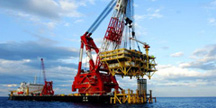 Pipeline engineering of deep sea drilling platform